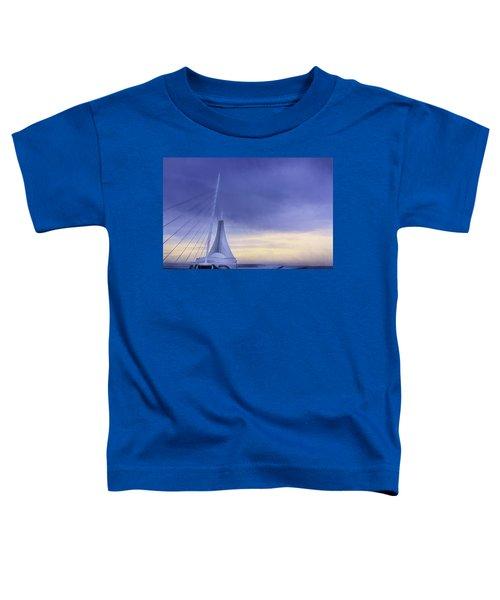 Quadracci Pavilion Sunrise Toddler T-Shirt
