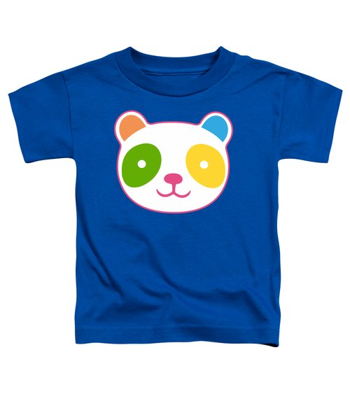 Rainbow Panda Toddler T-Shirt