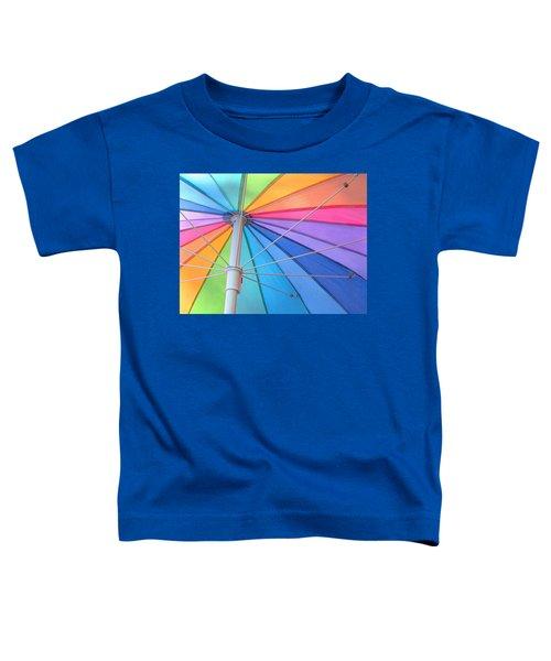 Rainbow Umbrella Toddler T-Shirt