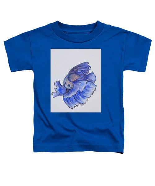 Ralphi, Betta Fish Toddler T-Shirt