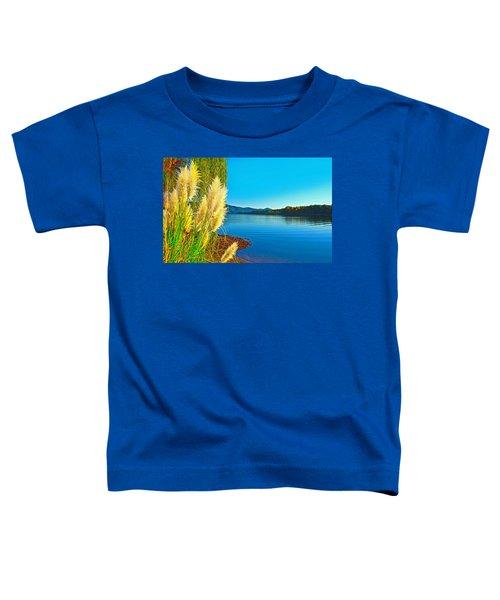 Ravenna Grass Smith Mountain Lake Toddler T-Shirt