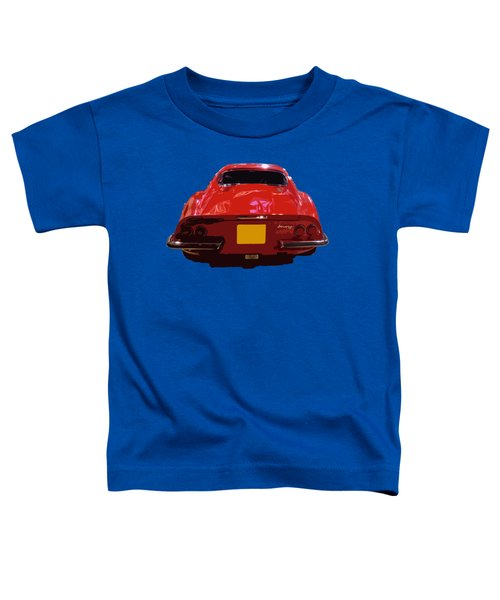 Red Classic Emd Toddler T-Shirt