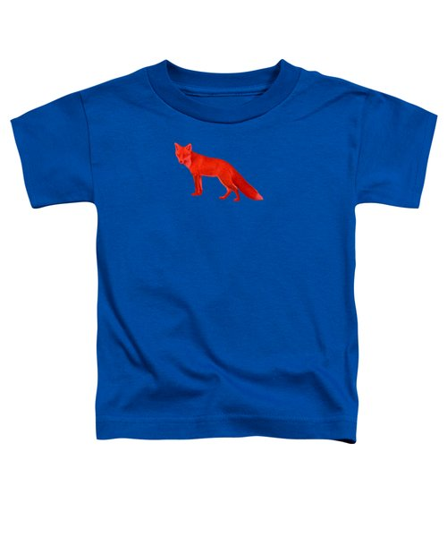Red Fox Forest Toddler T-Shirt by Movie Poster Prints
