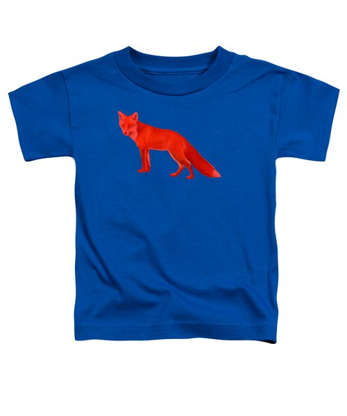 Red Fox Forest Toddler T-Shirt