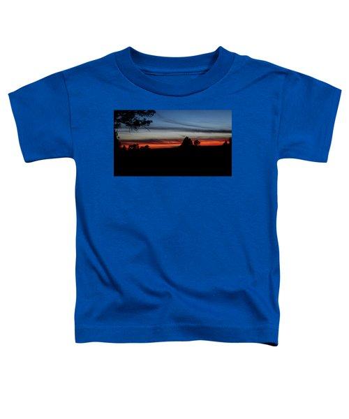 Red Sunset Strip Toddler T-Shirt