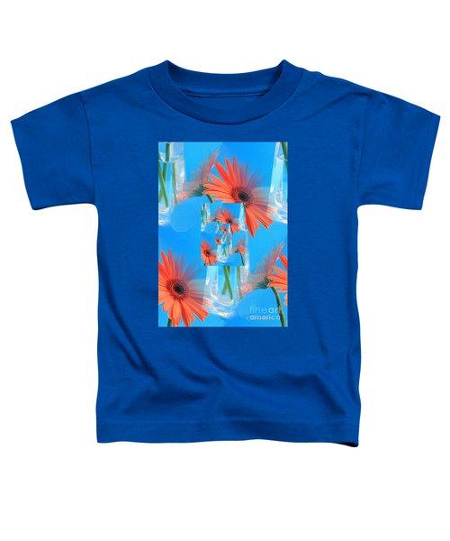 Redundant Gerbera Daisy Toddler T-Shirt