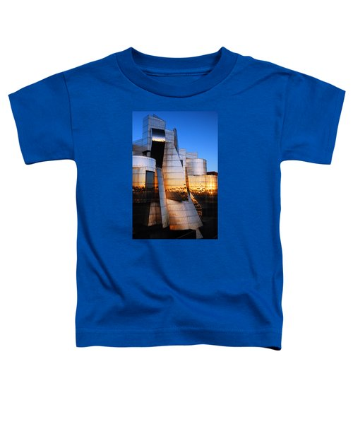 Reflections Of Sunset Toddler T-Shirt by James Kirkikis
