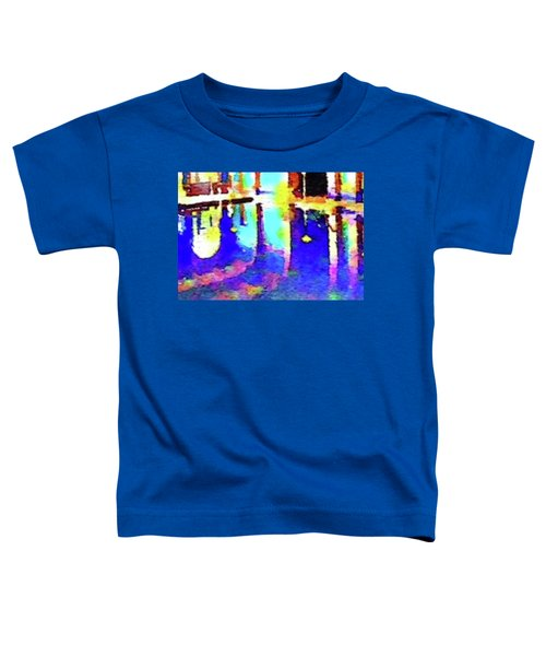 Reflective Pool Hearst Castle Toddler T-Shirt