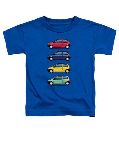Renault Twingo 90s Colors Quartet Toddler T-Shirt