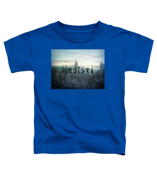 Resistance Foggy Window Toddler T-Shirt
