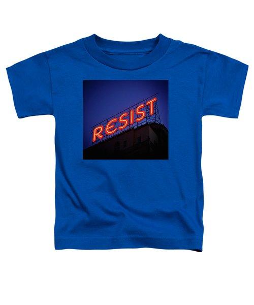 Resistance Neon Lights Toddler T-Shirt
