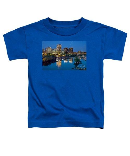 Richmond Skyline Helo Trail Toddler T-Shirt