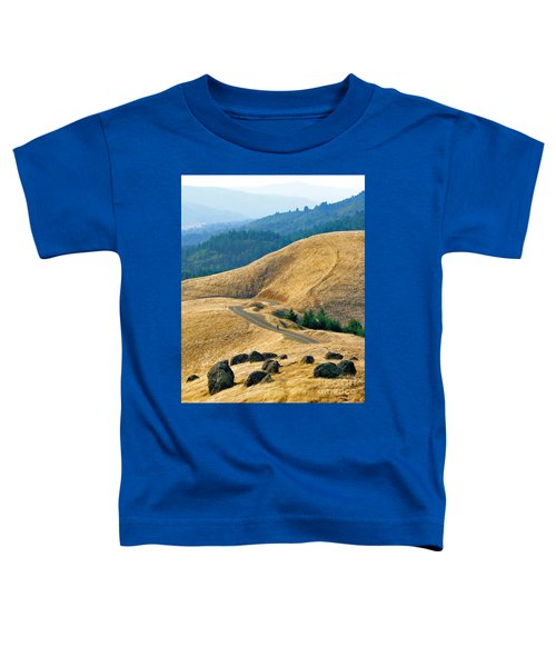 Riding The Mountain Toddler T-Shirt