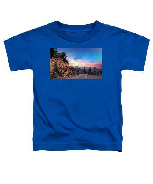 Rocky Mountain High Road Toddler T-Shirt