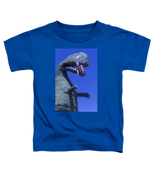 Route 66 Roadside Dinosaur Toddler T-Shirt