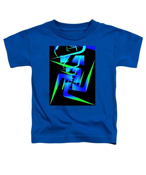 Running Man Toddler T-Shirt
