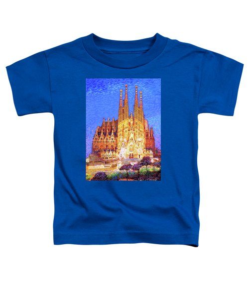 Sagrada Familia At Night Toddler T-Shirt