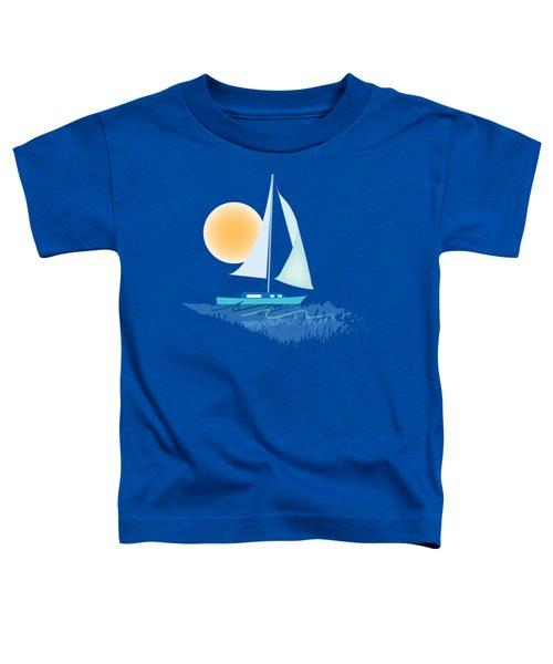 Sailing Day Toddler T-Shirt