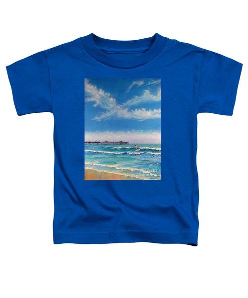 San Clemente Surf Toddler T-Shirt