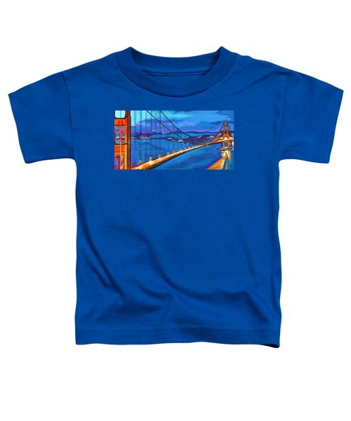 San Francisco Bay Blues  Toddler T-Shirt