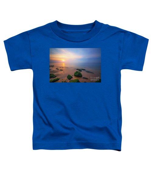 Sandy Hook New Jersey Sunset  Toddler T-Shirt