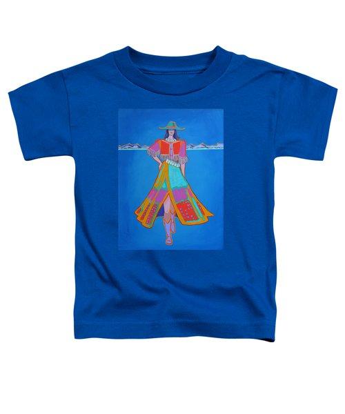 Santa Fe Girl  Toddler T-Shirt