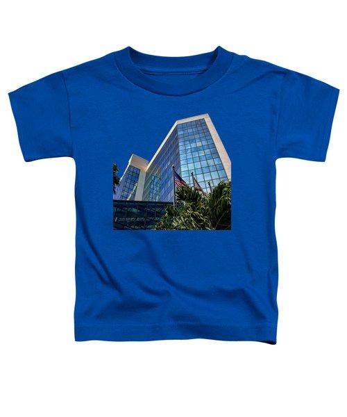 Sarasota Architecture Glass Transparency Toddler T-Shirt