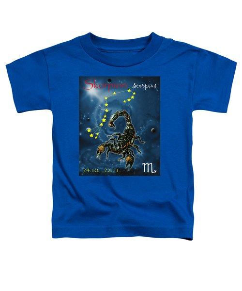 Scorpius And The Stars Toddler T-Shirt