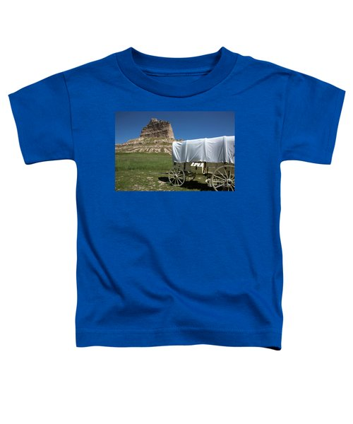 Scotts Bluff National Monument Nebraska Toddler T-Shirt