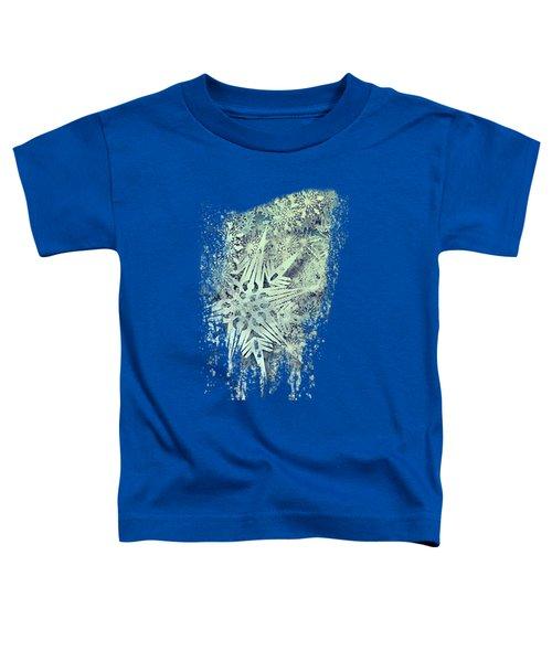 Sea Of Flakes Toddler T-Shirt by AugenWerk Susann Serfezi