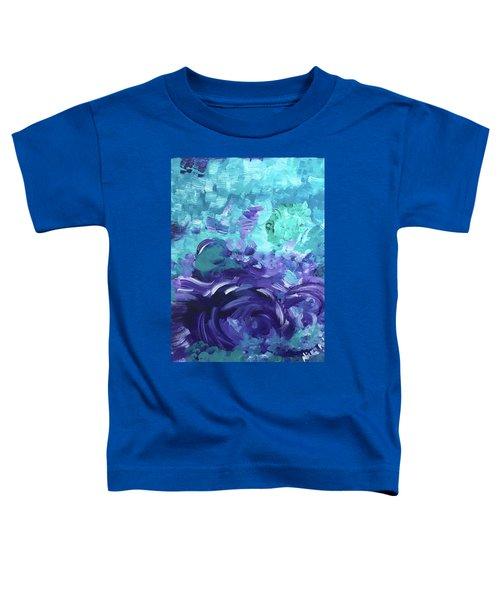Sea Purple Toddler T-Shirt