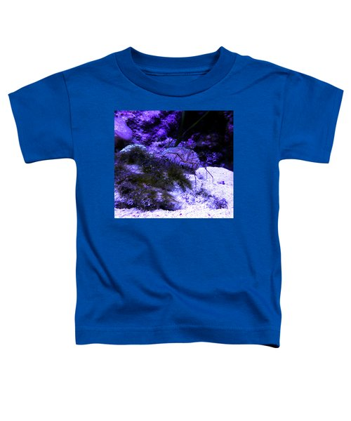 Toddler T-Shirt featuring the photograph Sea Spider by Francesca Mackenney