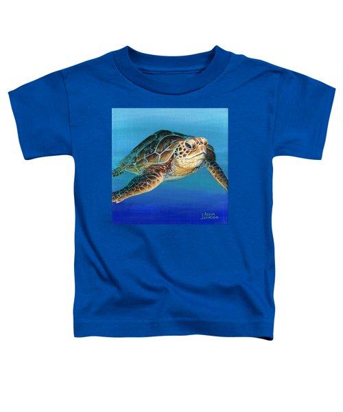 Sea Turtle 1 Of 3 Toddler T-Shirt