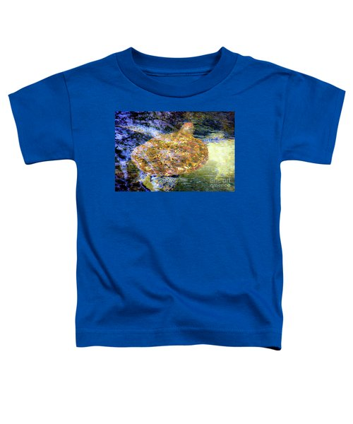Sea Turtle In Hawaii Toddler T-Shirt