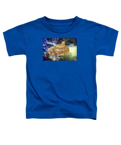 Sea Turtle In Hawaii Toddler T-Shirt