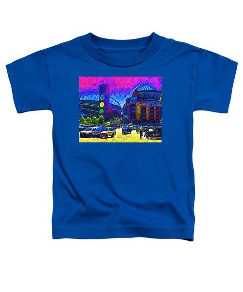 Seattle Century Link Stadium Toddler T-Shirt