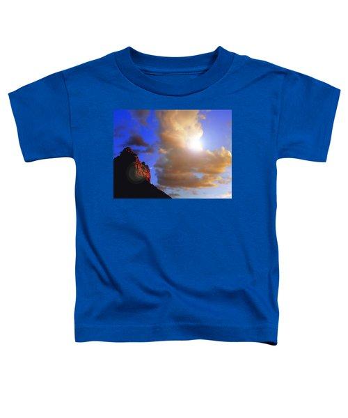 Sedona Mountain Cloud Sun Toddler T-Shirt