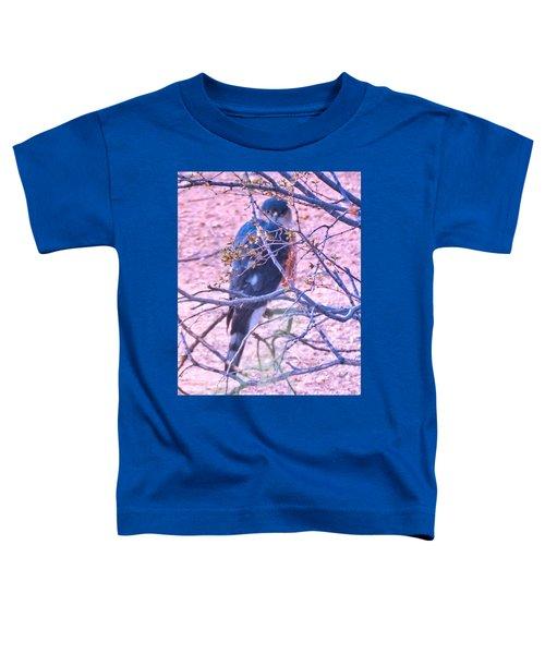 Sharp-shinned Hawk Hunting In The Desert 2 Toddler T-Shirt