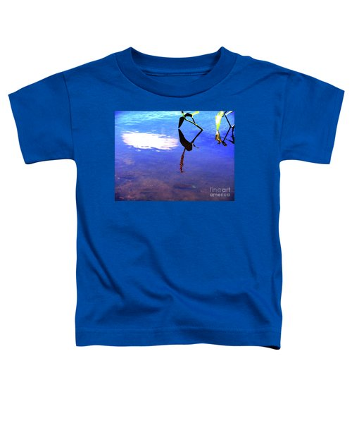 Silhouette Aquatic Fish Toddler T-Shirt