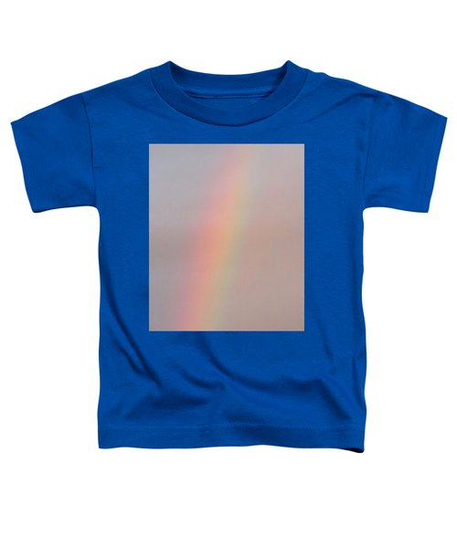 Simple Desert Rainbow Toddler T-Shirt