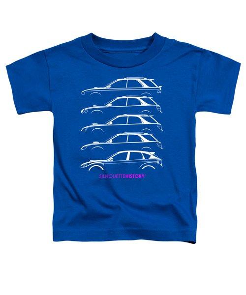 Six Stars Hatch Silhouettehistory Toddler T-Shirt
