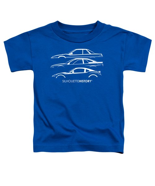 Six Stars Sports Coupe Silhouettehistory Toddler T-Shirt
