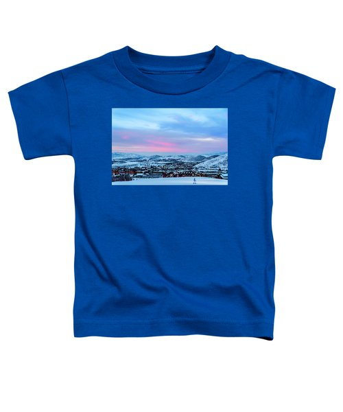 Ski Town Toddler T-Shirt
