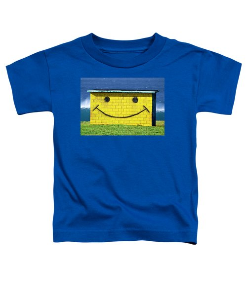Smiley Shed Toddler T-Shirt