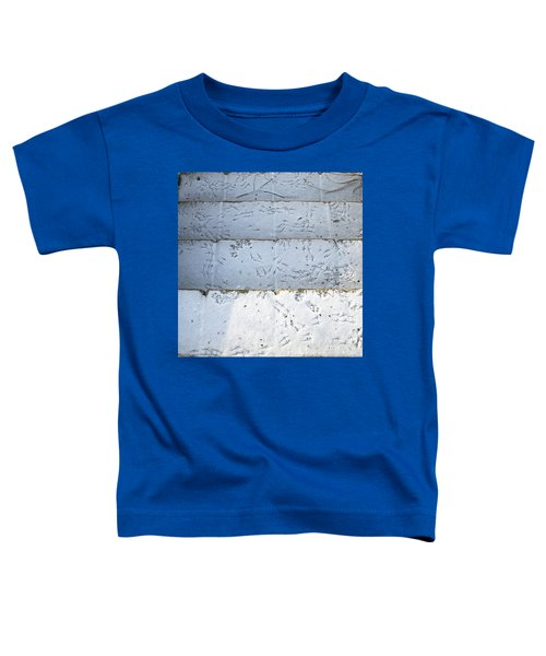 Snow Bird Tracks Toddler T-Shirt