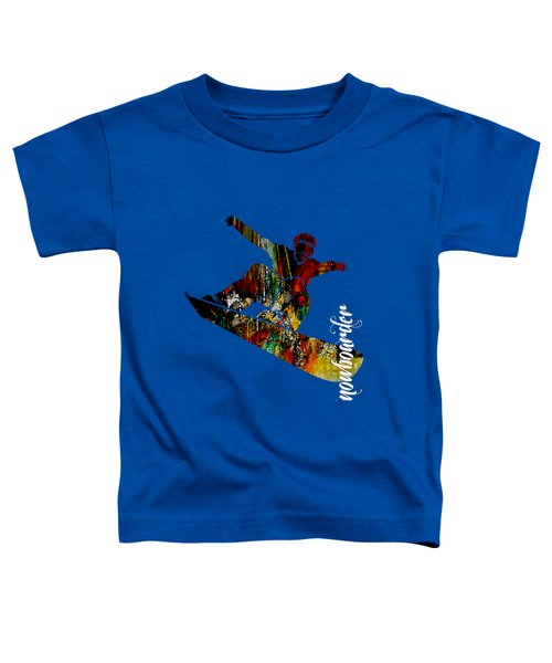Snowboarder Collection Toddler T-Shirt