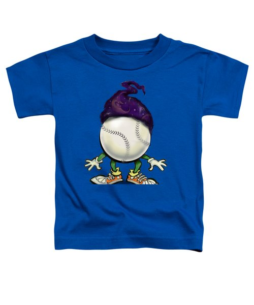 Softball Wizard Toddler T-Shirt by Kevin Middleton