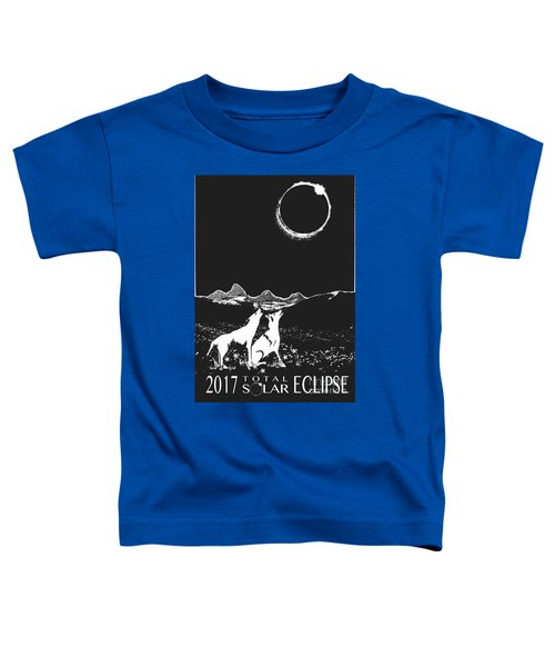 Solar Eclipse Toddler T-Shirt