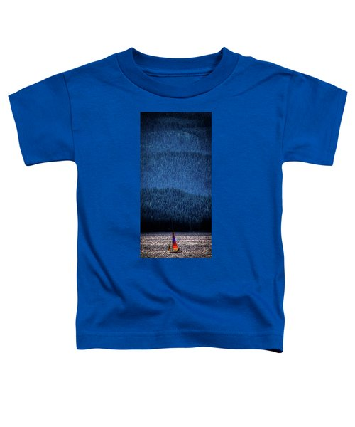 Toddler T-Shirt featuring the photograph Solitude On Priest Lake by David Patterson