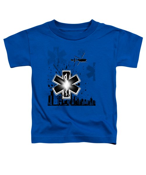 Star Of Life Graphic Toddler T-Shirt by Melissa Smith